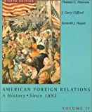 American Foreign Relation (0395938872) by Paterson, Thomas G.