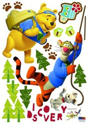 Imagen 2 de Winnie the Pooh y Tiger - Muro de los niños pegatinas casa Art Deco Pegatinas de pared