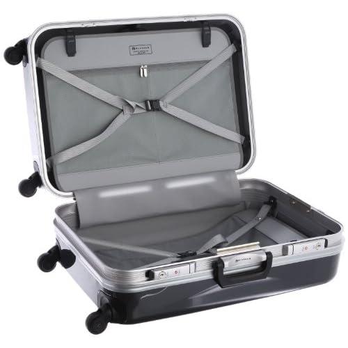 [プロテカ] ProtecA プロテカ レクト スーツケース 63cm・67リットル・4.8kg 00321 02 (ガンメタリック)