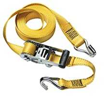 Master Lock 3058DAT 15-Foot-by-1-1/2-inch Heavy-Duty Ratchet Tie Down