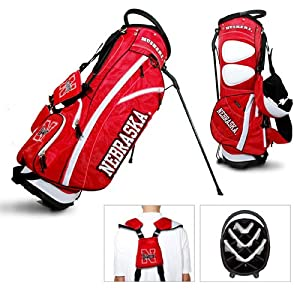 Brand New Nebraska Cornhuskers NCAA Stand Bag - 14 way by Things for You