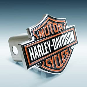 Harley Davidson Bar & Shield Emblem Chrome Hitch Cover