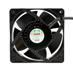 Protechnic Fan, 12 V, 120 x 120 x 38mm, 4000 RPM MGA12012HB-038 IP68