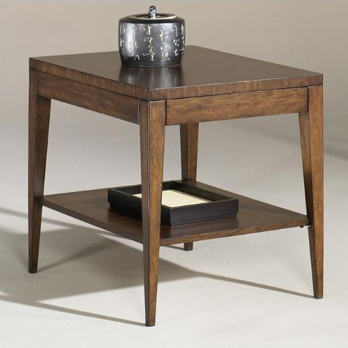 Cheap Hammary T1082220-00 Opus Rectangular End Table in Light Brown (T1082220-00)