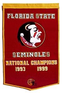 NCAA Florida State Seminoles Dynasty Banner by Winning Streak