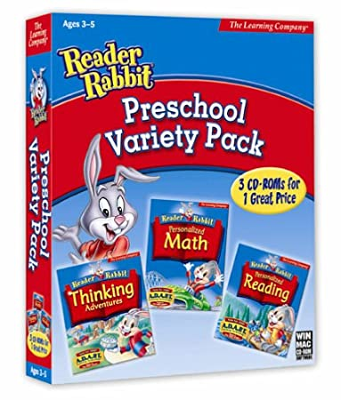 Reader Rabbit Preschool Variety Pack  [OLD VERSION]