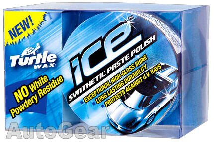 Turtlewax Turtle Wax Ice Car Synthetic Paste Polish Includes Microfibre Towel & Applicator Pad