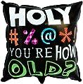 Creative Converting Mens Holy Bleep Foil Balloon