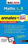 Annales ABC du BAC 2015 Maths Term S...