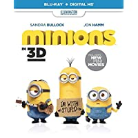cheap minions blu ray