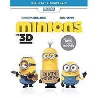 Minions (Blu-ray 3D + Blu-ray + UV Copy) [2015]