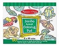 Melissa & Doug Jumbo Coloring Pad – A…