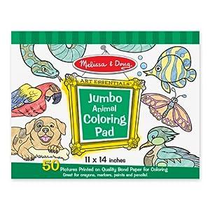Melissa & Doug - Animals - Jumbo Coloring Book