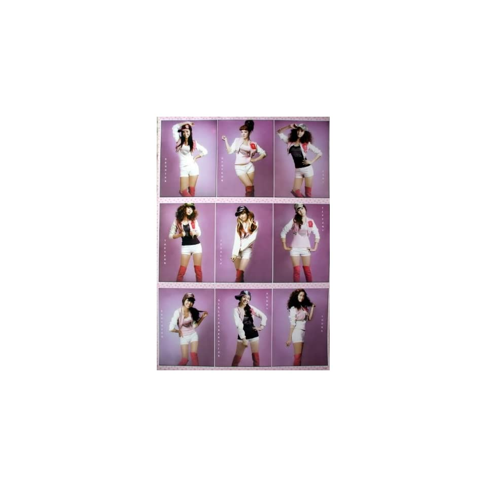 AS 291 Snsd Girl Generation Korean Girl Group Pop Dance Wall Decoration Poster Size 23.5x35