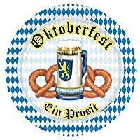 Oktoberfest Dinner Plates from The Beistle Co.