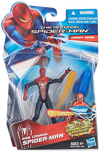 The Amazing Spider-Man Web Cannon Spider-Man 3.75 inch Action Figure