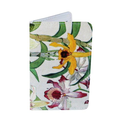 Wild Tropical Orchids Business, Credit & ID Card Holder
