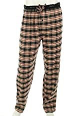 Perry Ellis Flannel Sleepwear Pants Men's