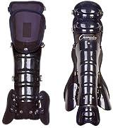 Champion Sports LG87 Professional Umpire Leg Guards (Adjustable)