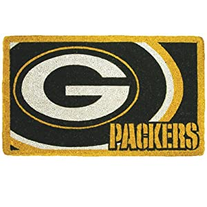 Team Sports Green Bay Packers 18x30 Bleached Welcome Mat by Team Sports America