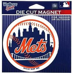Mets Die Cut Magnet