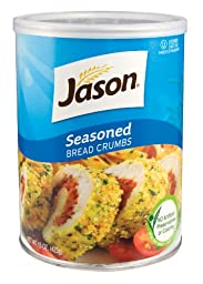 Jason, Seasoned Bread Crumbs, 15oz (Pack of 12)
