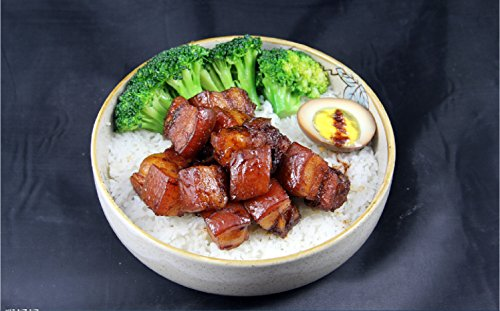 Taiwan braised pork on rice practice by hongchu gan