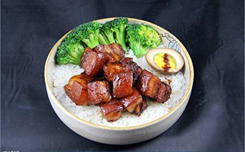 Taiwan braised pork on rice practice by hongchu gan
