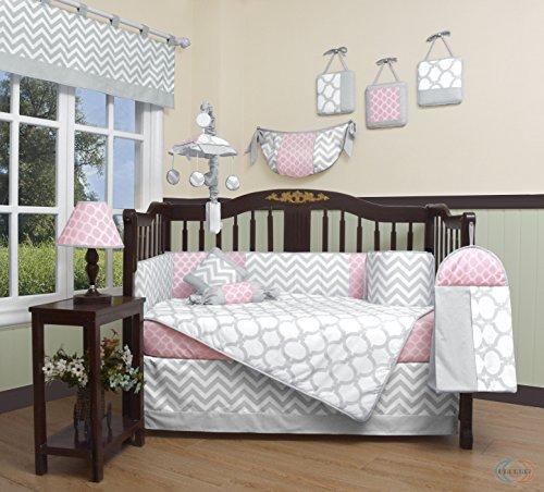 Geenny Boutique Baby 13 Piece Crib Bedding Set Salmon