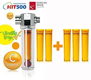 vita fresh shower filter with 5 vitamin c cartridge diy tools. Black Bedroom Furniture Sets. Home Design Ideas