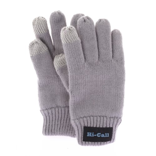 Talking Gloves - Bluetooth Talking Gloves For Winter With Touch Function (Gray)