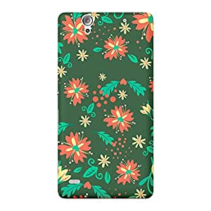 INKIF Graffiti Designer Case Printed Mobile Back Cover for Sony Xperia C4 (Multicolor)