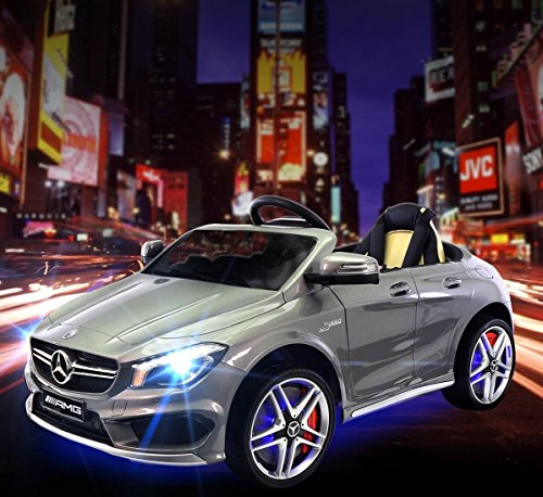 2017 Mercedes CLA 45 AMG 12V Power Kids Ride on Toy w/Remote control Leather Seat UV Lights
