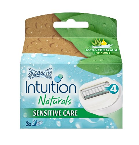 Schick Intuition Naturals Sensitive Care Razor Refill  Count
