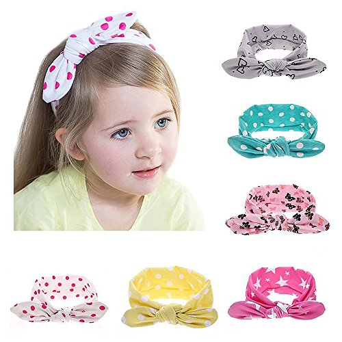 My Little Baby 6 pcs Baby Elastic Hair Hoops Headbands and Girl's Fashion Soft Headbands (Birthday Gifts 1 Year Old Boy compare prices)