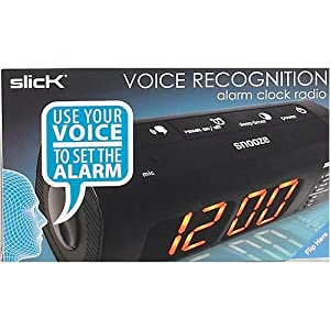 Voice Recognition Alarm Clock Radio