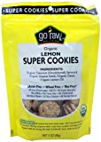 Go Raw Lemon Cookies, 3-Ounce (Pack of 4)