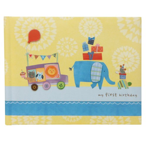 C.R. Gibson Birthday Keepsake Book, First Birthday (Discontinued by Manufacturer)