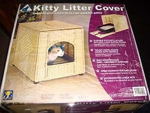 Cat Villa Kitty Litter Cover New in Box