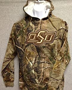 NCAA - Oklahoma State Realtree Camo Hoodie Sweatshirt (Small) [Misc.] by The Game