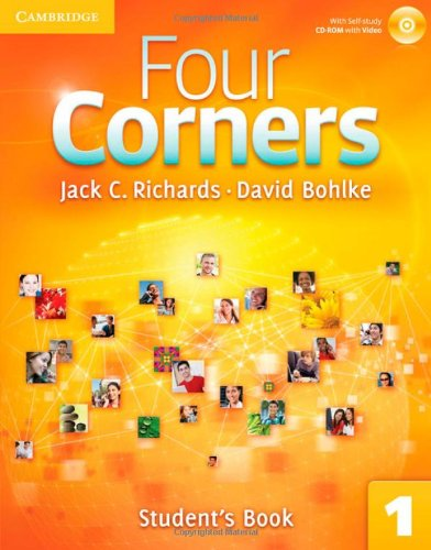 Four Corners Level 1 jStudent's Book with Self-study CD-ROM