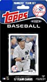 New York Yankees 2014 Topps Factory Sealed 17 Card Limited Edition MLB Baseball Licensed Team Set with Derek Jeter Plus