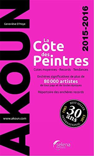 la-cote-des-peintres-2015-2016