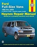 img - for Ford Full Size Vans, 1992 Thru 2005 (Haynes Repair Manual) book / textbook / text book