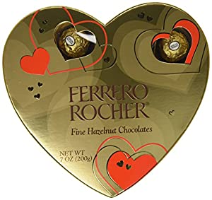 Ferrero Rocher Heart Gift Box, 16 Count