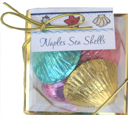 CHOCOLATE SEASHELL WEDDING FAVORS