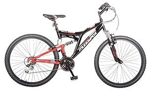 Muddyfox Mens Recoil26 Mountain Bike Dual Suspension Cycling Bicycle