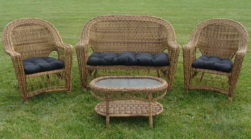 Discount Wicker Patio Furniture Stores Reviews :  wicker covers cushions weather