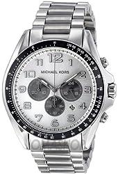 Michael Kors Men's MK8254 Bradshaw Silver Watch