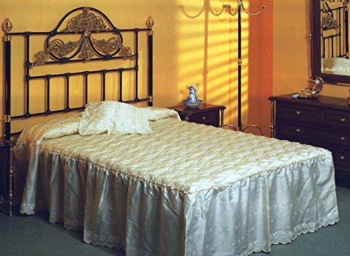 Betten und Kopfteile aus Messing und Eisen : Modell DORTMUND